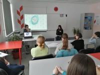 Активисты объединения РДШ провели Классную встречу с Нестёркиной Еленой Николаевной